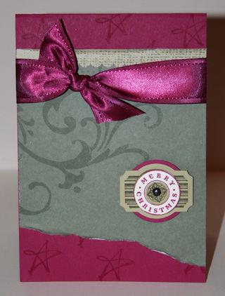Designer Label Punch card