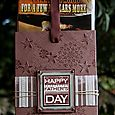 Fathers Day DVD Holder Open