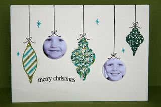 Phpto bauble cards