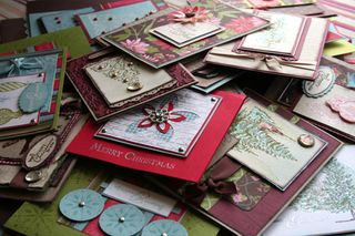 Home made cards small