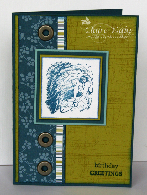 Stampin up australia claire daly independent demonstrator stampin up male birthday cards bookmarktalkfo Images