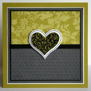 stampin up valentines card