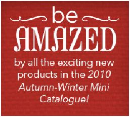 Stampin Up Australia Autumn Winter Mini Catalogue