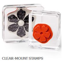 Stampin Up Australia Clear Mount Stamps