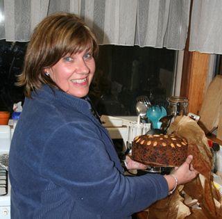 Leanne Xmas Cake