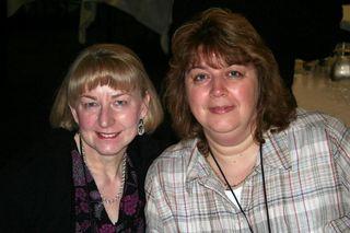 Judy and Christine