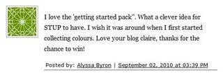 Winner Blog Candy 5th Sep