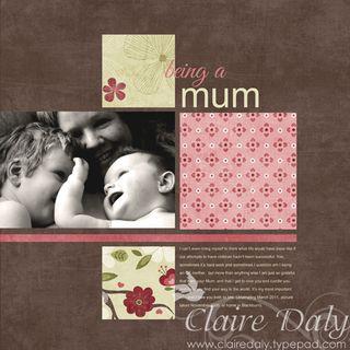 Sm Being a Mum CZ template 12