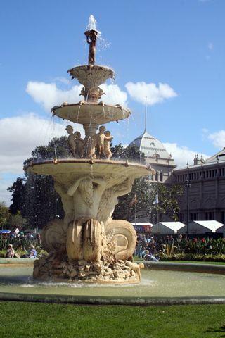 Sm fountain