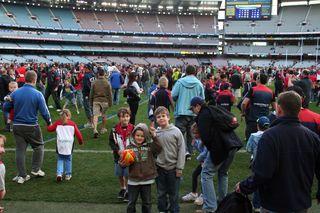 Boys on MCG Aug 28 2011