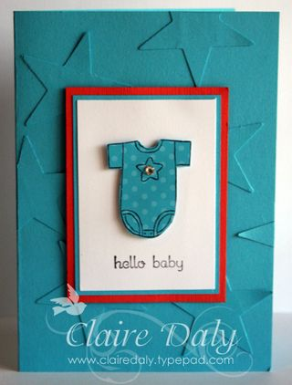 Baby card stars