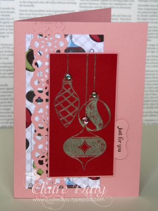 Merry and Type stampin up