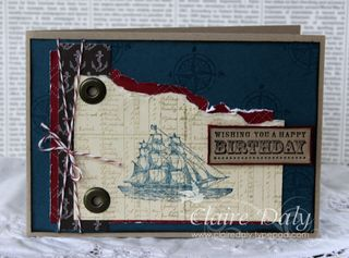 Stampin Up The Open Sea