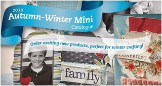 stampin up autumn  mini catalogue australia