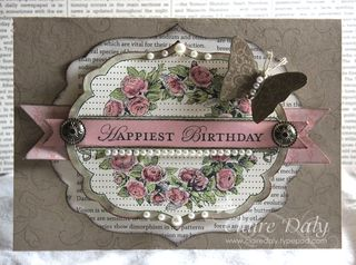 stampin up Apothecary Art