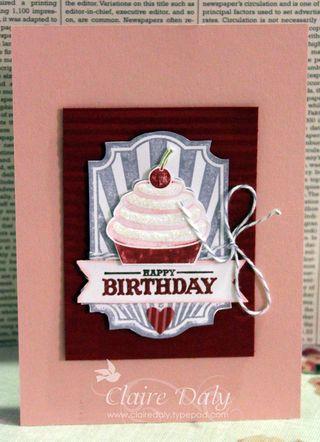 sweet cake stampin up