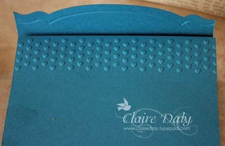 stampin up embossing