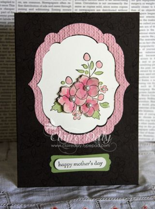 stampin up bordering on romance
