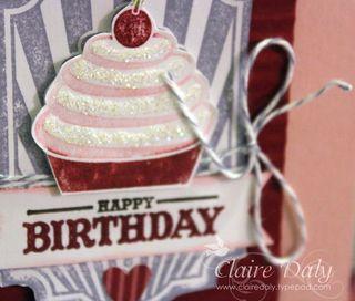 Stampin Up sweet cake