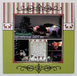 Our christmas lights 2011
