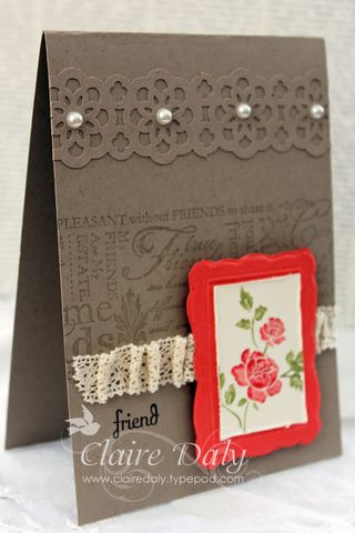 Stampin Up you are Loved