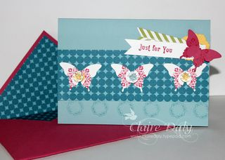 stampin up butterfly punch australia
