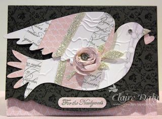 Stampin Up Elegant Bird Die