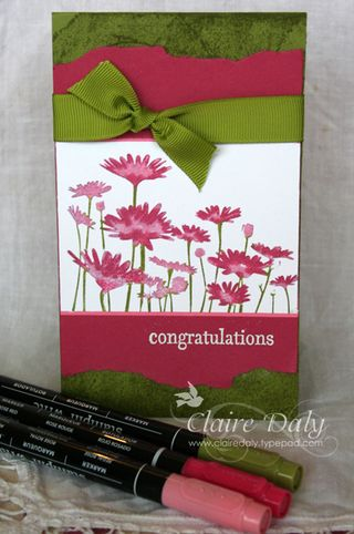 Upsy Daisy stampin up