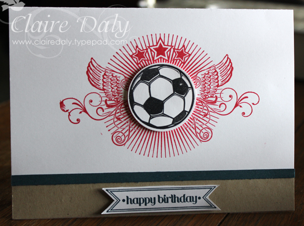 Stampin up australia claire daly independent demonstrator stampin up great sport m4hsunfo