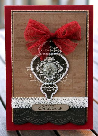 ornament keepsakes stampin up
