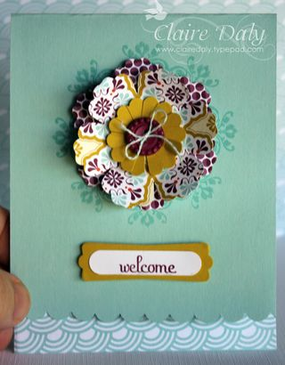 Saleabration Sycamore St Stampin Up Blossom Punch