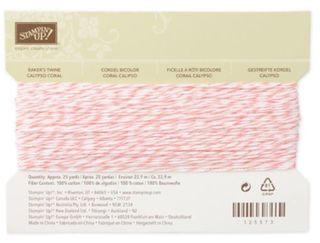 Calypso Coral bakers twine