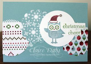 Stampin Up Owl Occasions