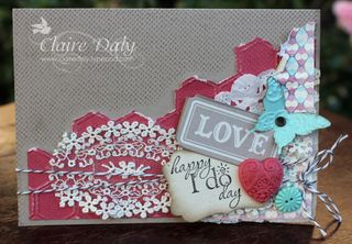 More Amore DSP Stampin Up