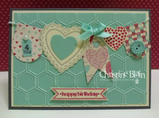 Hearts a Flutter Stampin Up