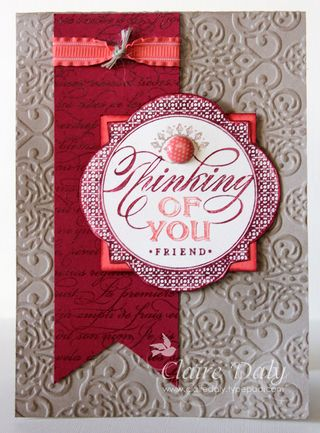 Just Thinking Stampin Up