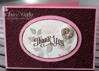 summer silhouette stampin up
