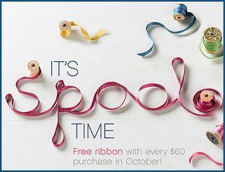 stampin up free ribbon australia