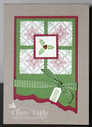 Be of Good Cheer DSP Stampin Up