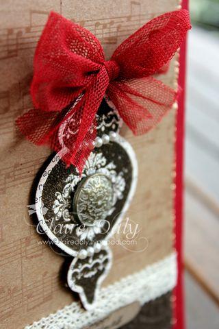 Ornament keepsakes stampin up vintage