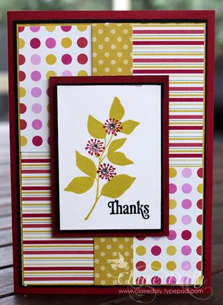 Stampin' Up! Summer Silhouettes