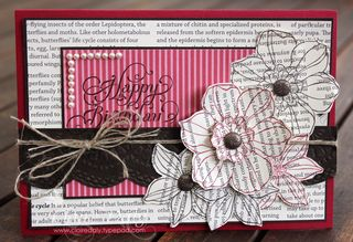 Stampin Up Secret Garden