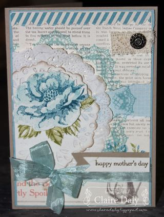 Stampin' Up! Stippled Roses