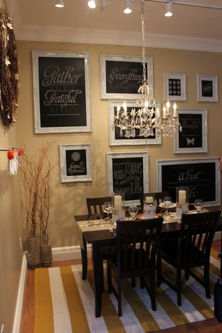 stampin up home office legacy room chalkboard art