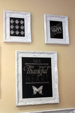 stampin up chalkboard art