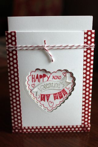 stampin up perfectly you valentines card