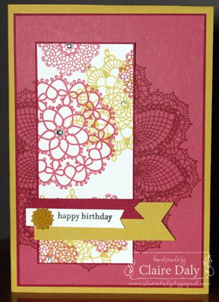 Hello Doiley Stampin Up