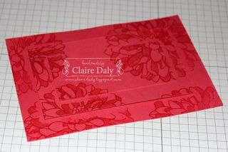 Stampin up regarding dahlias