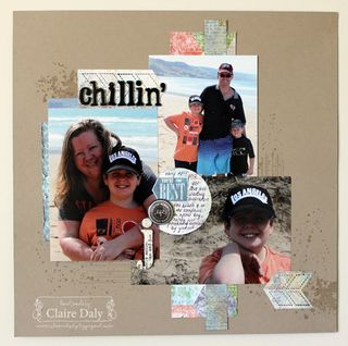 stampin up scrapbooking