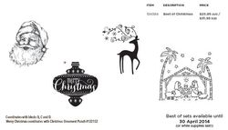 Best of Christmas stampin up australia